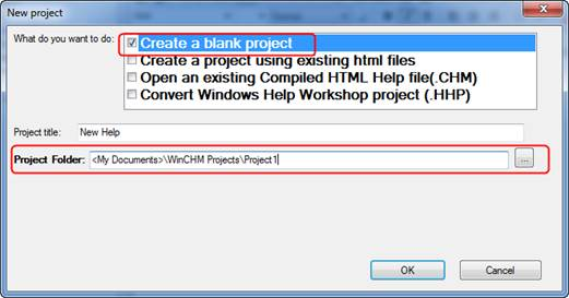 How to Create CHM Files (HTML Help File)?