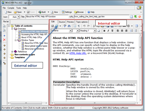 how to write chm help file A quick tutorial to help you create chm help files with a help authoring tool.