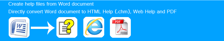 WordToHelp - DOC to CHM, Word to CHM converter, Create CHM